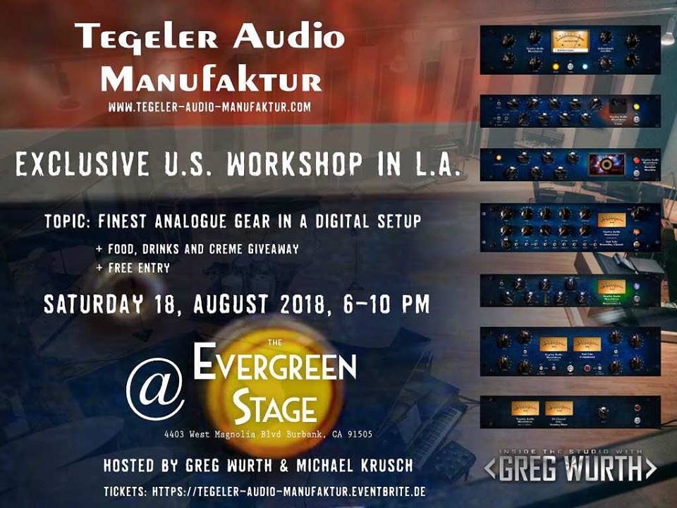Tegeler Audio Workshop [LA - US]
