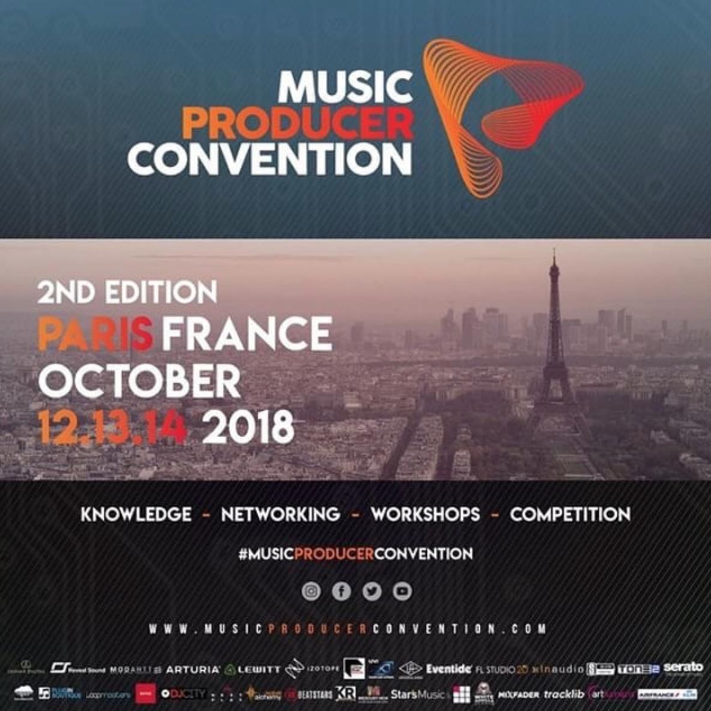 Music Producer Convention | Paris 2018