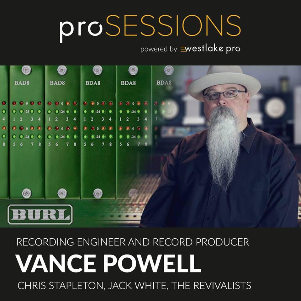BURL AUDIO Event with Vance Powell