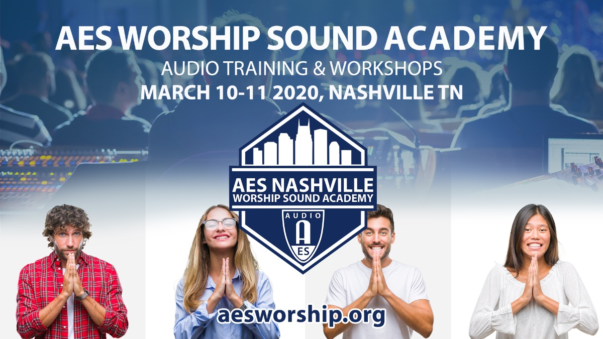 AES Worship Sound Academy 2020