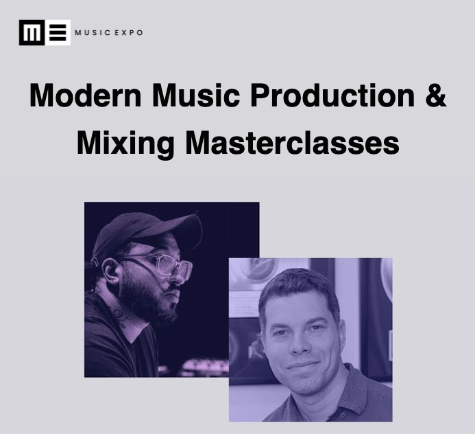 Music Expo Masterclasses with ill Factor and Frank Socorro