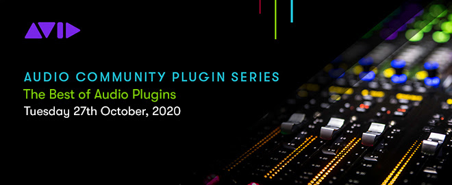 AVID Audio Community Plugin webinar
