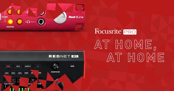 Focusrite Pro At Home