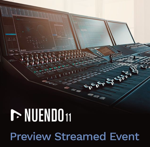 Steinberg Livestream: Nuendo 11 Preview