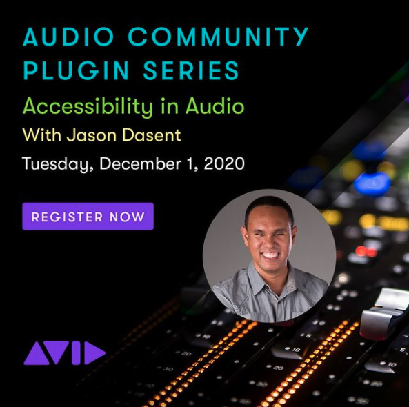 AVID Webinar: Accessibility in Audio