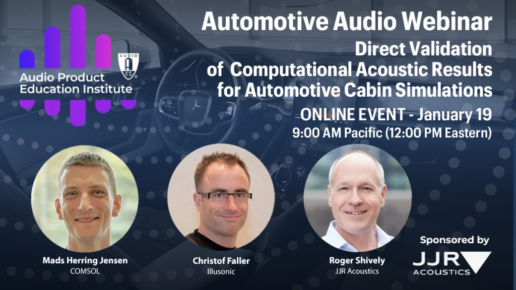 APEI Automotive Audio Webinar