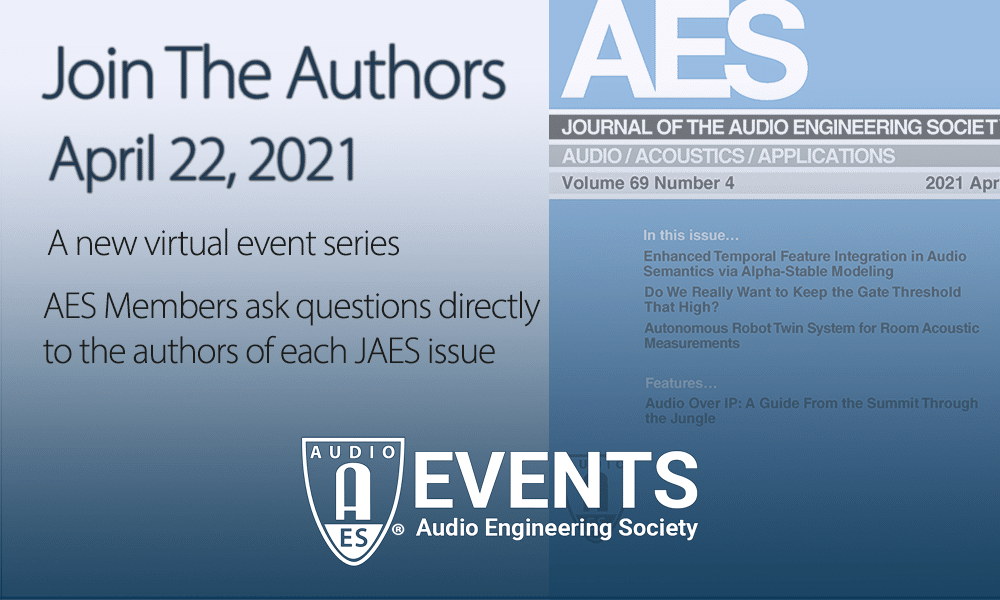 "AES Journal ""Ask the Authors"""