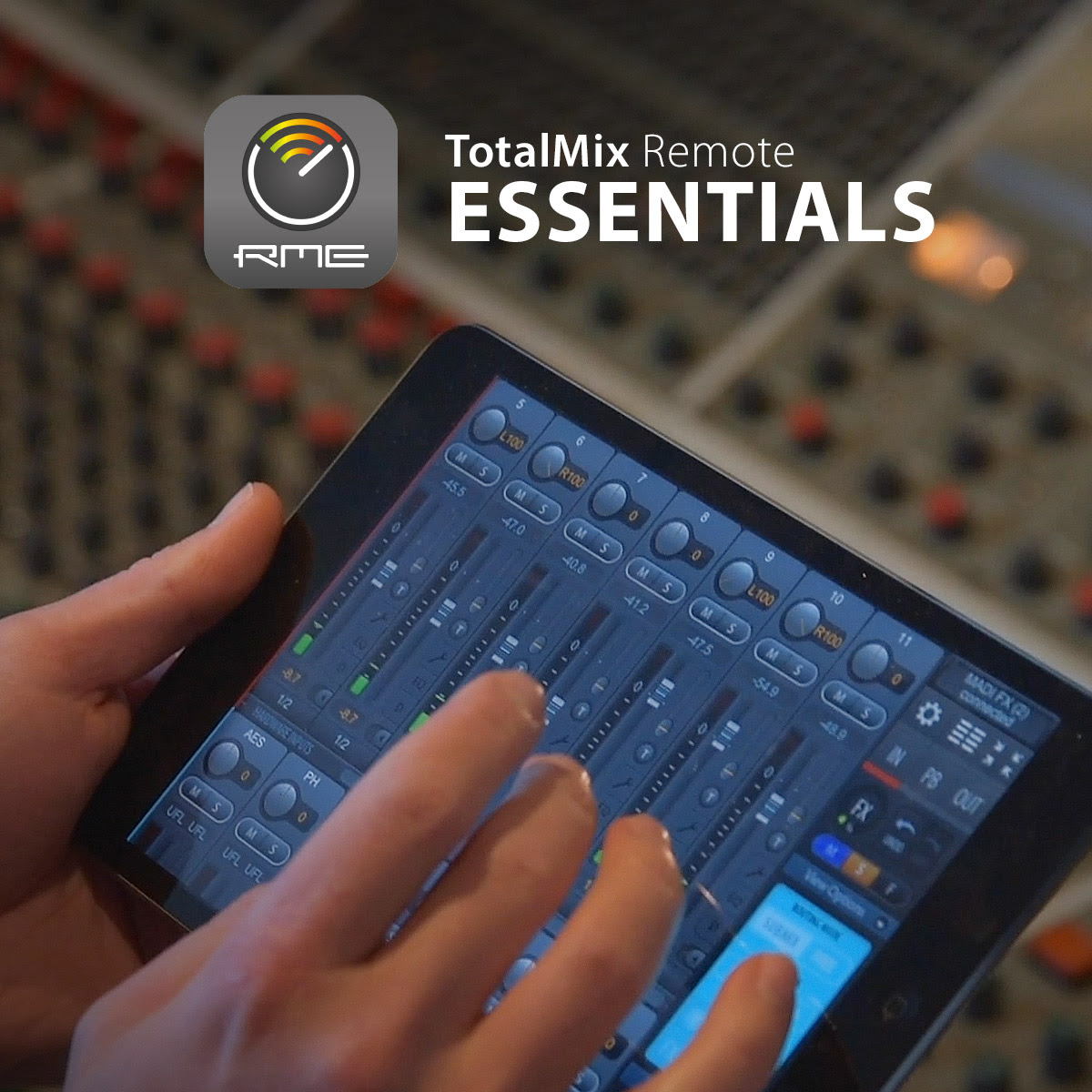 RME TotalMix Remote App Livestream