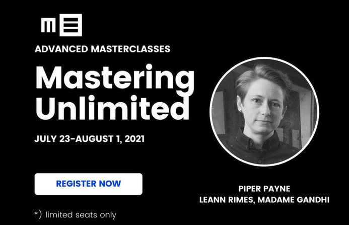 Piper Payne Presents MASTERING UNLIMITED