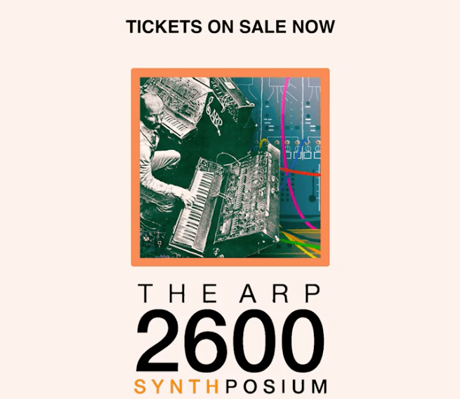 The ARP 2600 Synthposium: 50 Years of the 2600