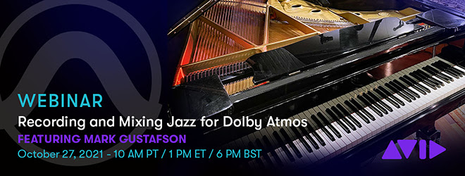 Recording and Mixing Jazz for Dolby Atmos